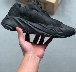 MNVN Triple Black FV4440 BLACK designer boots portofino sneakers designer sock trainers luxury common projects men asual shoes women flat s