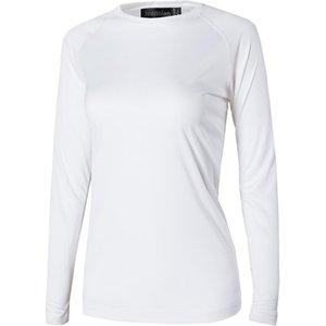 Jeansian женщин Upf50 Ув Открытый Спорт Tee Shirt Футболка Tshirt Long Beach Рукав Лето Swt246 Красный
