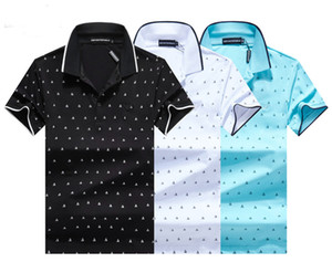 2020 designer stripe polo shirt t shirts snake polos bee floral embroidery mens High street fashion horse polo T-shirt