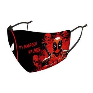 Le Winter Soldier Masque réutilisable lavable Facemasks Mode Bouche Facemasks L'usine d'hiver Vente directe Date de sortie belle EjHL officiel