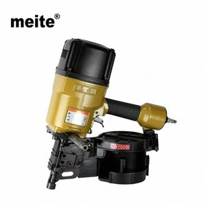 MEITE CN100 Professional industrial grade coil nails pneumatic nailer gun for pallets, boxes, crates, fencing Dec.15 Update Ws2H#