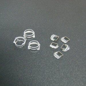 Sensor de luz de la proximidad del frente 50set alta calidad frente a la cámara de plástico titular del clip del anillo de soporte para el iPhone 5 5S 5C mayorista
