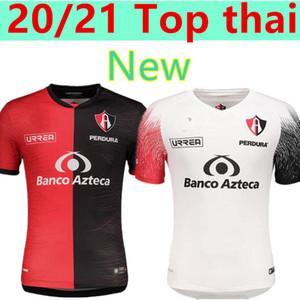 20 21 liga mx 2020 2021 Atlas FC soccer jerseys home away L.Reyes I.Jeraldino Acosta I. Renato J. Angulo FOOTBALL SHIRTS THAILAND MAILLOTS