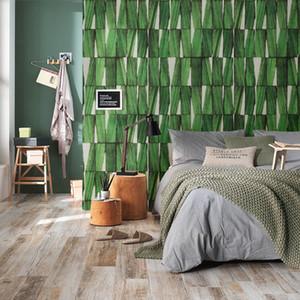 New 3D unique imitation wood grain wallpaper 10m*0.53m vintage southeast Asia wood mural wallpaper pvc mould-proof home decor