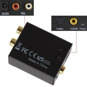 Gute Qualität Digitaler Adaptador Optic Koaxial RCA Toslink Signal-Analog-Audio-Konverter-Adapter-Kabel