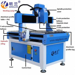 China, 6090 CNC enrutador 1,5 KW 2,2 kW husillo certificación CE carril de guía cuadrado EFVC #
