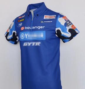 Verão 2020 terno uniforme nova equipe de fábrica da camisa POLO lapela T-shirt de secagem rápida Dakar Yamaha motorista versão de corrida