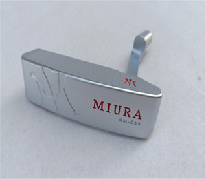 MIURA KM-009 Putter Head Forged Carbon Steel With Full CNC Milled Brand Golf Clubs Putters Sports ( head + headcover, without sh