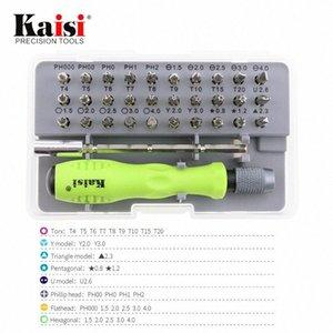 Kaisi K-T9030 Hassas Tornavida Uçları Seti Çok yönlü ve taşınabilir Tornavida Seti Repaire Araçları S6lq #