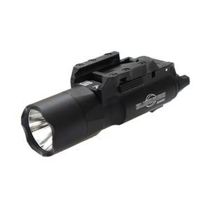Tactical SF X300 Ultra LED Pistol Light X300U Hunting Rifle Flashlight White light 400 lumens Output fit Picatinny or Universal Rail
