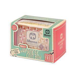 Caja de moneda japonesa mensa madera truco Compartimiento Magic Box Rompecabezas Educativo Lógica Puzzle Box Niños juguete madera CX200711 regalo