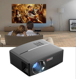 GP80 GP80UP LED Mini Portable Projector Home Theater Support Full HD 1080P 4K Optional Android Bluetooth Wireless WIFI Beamer 1pcs