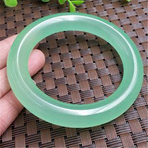 Дизайнер Дизайн Natural Jade Green Light Кварцит Джейд круглый браслет женский браслет нефрита ремесла Оптовая