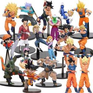 8-30cm Dragon Ball Z SCultures Big Budoukai Series Action Figure Lazuli Nappa Raditz Goku Trunks Vegeta Satan Collection Model