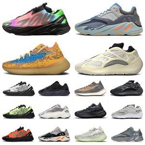 36-46 Kanye boost utility black 700 Magnet Vanta Tephra wave runner 700 v2 3M Hommes Baskets Statiques Réfléchissantes Géode Tephra Kanye West Femmes Chaussures De Sport