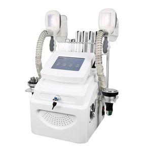 Poids puissant 5 en 1 Cryo Lipolaser Poids du poids Réduit 40K Cavitation Vacuum RF Corps Minceur Machine Machine de beauté de la radio