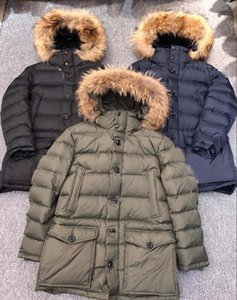 2020 france New Arrival Sale Men's CLUNY Black Navy Gray blue Down Jacket Winter Coat Parka Sale With Free Shipping