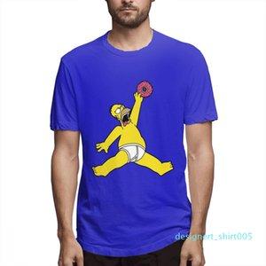 L'été arrive en tête Fashion Designer Simpsons Chemises Femme Chemises Hommes manches courtes shirt Les Simpsons T-shirts imprimés causales c3207d05