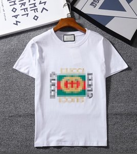 Womens Mens 2020 designer t shirts with Brand Letter Print gûccì Designer Top Tees Short Sleeve Casual T-shirt S-2XL New Arrivals