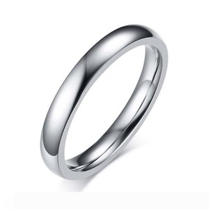 2019 New Fashion New Fashion Ring Silver Color Stainless Steel Ring for Women High Quality Ring Jewelry