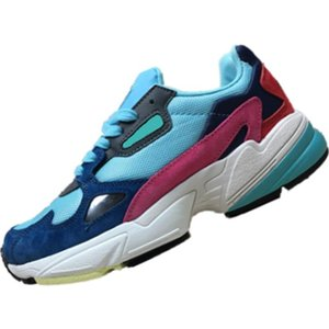 With Box 2019 Falcon W Leather and Mesh Youth Ladies Breathable Running Shoes Falcon W Mix EVA Cushioning Sports Shoes