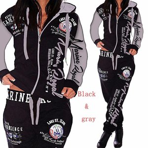 2020 new Womens Sets Clothes Hoodies Pants 2 Piece Set Warm Ladies Printed Women Outfits Matching Suit Women Tracksuit