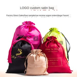 Sales gift jewelry bundle pocket satin gold gilding silk wig Yueshi Cup storage Jewelry storage bag bag packaging
