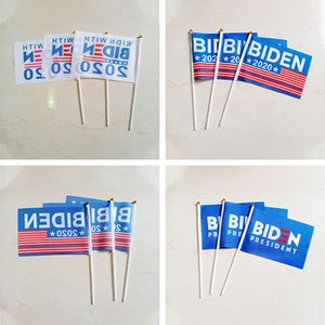 DHL Fast Shipping Customized Trump garden flag Biden election flag 14*21 20*30 Double Sided Printed 2020 campaign flag C1402