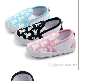 Baby toddler shoes Skull-printed baby shoes, infant toddlers WL117