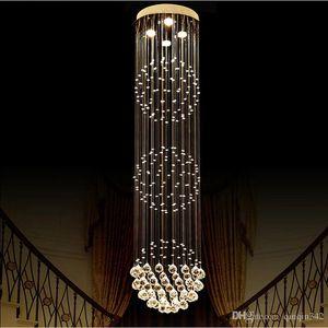 Large Luxury Crystal chandelier Living Room lustre sala de cristal Modern Round Ball Chandeliers Light Fixture Wedding Deco