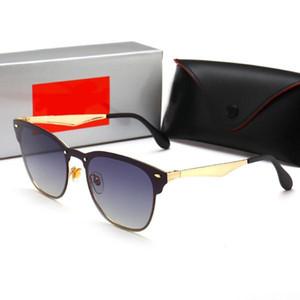 Ray Ban nouvelle interdiction marque lunettes de soleil polarisées Hommes Femmes pilote UV400 Lunettes 3576 Lunettes Wayfarer Metal Frame Polarized Lunettes de soleil 7wzI #