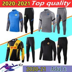 2020 2021 INTER 축구 훈련 정장 세트 밀라노 20/21 어디든 루카 쿠 라우 타로 ERIKSEN CANDREVR SKRINIAR BROZOVIC 간 자켓 운동복 조깅