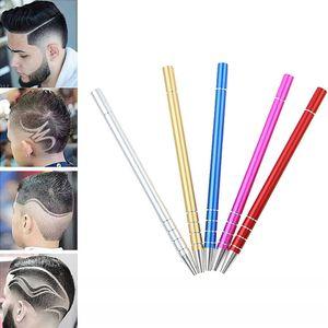 Grabado Profesional Pen Barba tijeras de pelo Virutas cejas Razor Carve tatuaje de la pluma del peluquero de la peluquería de bricolaje Herramientas de Estilismo