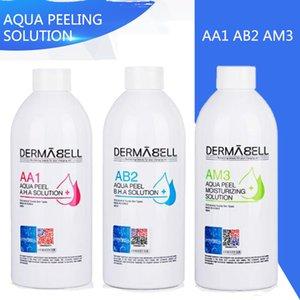 2020 Nouvelle arrivée !! Aqua Peeling Solution AA1 AB2 AM3 / 400ml bouteille Aqua visage Sérum Hydra Sérum visage pour peau normale