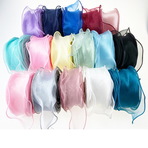 5.5cm*35M Wavy mesh Tulle for diy handmade bowknot Organza Birthday Decoration Wedding Decor Party Supplies
