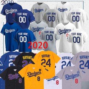 Dodgers forması Mookie Betts 50 35 Cody Bellinger 22 Clayton Kershaw 14 Enrique Hernandez 31 Joc Pederson özel beyzbol formaları