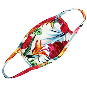Dener Fa Maske Fasion Cotton Droll Fa Maske Flag-Digital-Sport Alloween Cosplay Fa Masken Staub Warm-windundurchlässiges # 639 Mask