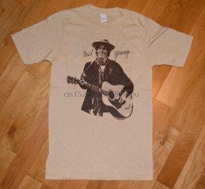 RARE 1978 NEIL YOUNG tournée de concerts de cru t-shirt 1970 Rock