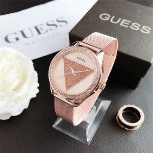 2020 new luxury high-end GEUSS PandoraA watch men and women designer luxury stainless steel strap fashion leisure men and women watch