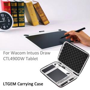 LTGEM 케이스 와콤 인튜어스은 / 미술 / 만화 / 사진 490 시리즈 작은 크기 디지털 도면 및 그래픽 태블릿 블랙 메쉬 Pocke CX200718와 무승부