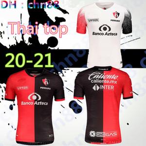 Liga MX 2020 2021 Atlas FC Soccer Jerseys Home 20 21 L.Reyes I.Jeraldino Acosta I. Renato J. Angulo Camisas de futebol Tailândia Maillots