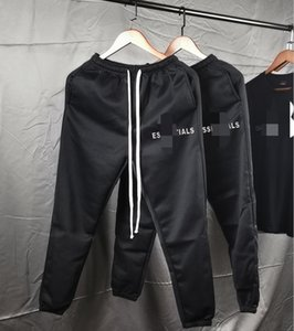 FEAR OF GOD FOG casual trousers for men ESSENTIALS double line leisure sports loose casual trousers for men and women