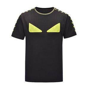 2020SS New Mens Designer T shirt Luxury Paris fashion Tshirts Summer Women Pattern T-shirt Male Top Quality 100% Cotton Top Tees qe0