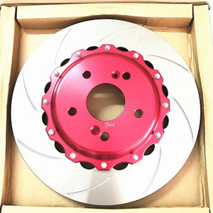 Jekit 300*24 for JK racing ap7600 red brake caliper covers kit auto part of brake disc fit for 16RIM 206 Nz8R#