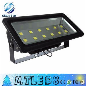 LED projektör 600W Parlaklık Led Taşkın Işık Spotlight AC85-265V Su geçirmez dış mekan duvar lambası Projektörler