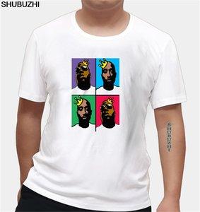 Hip Hop Legends Новый 100% Котт @ На Мужская футболка Compton 2 Pac Biggie Smalls Eazy E Тупак Топ Tee Graphic Tshirts Euro Размер Summer
