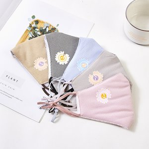 Hot sale Fashion Cartoon Cotton Charcoal Protective Face Mouth Mask flower style Cotton Dust Mask