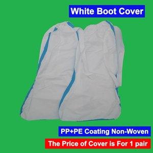 1 jour DHL navire PP PE Revêtement non Weave non tissé couverture Bottillons Couverture Couverture Coiffures Chapeau pied