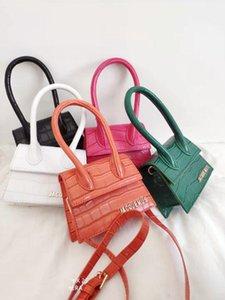 leather luggage tag 2020 new ladies crocodile pattern fashion bag mini wallet handbag fashion show one-shoulder messenger bag purse hook