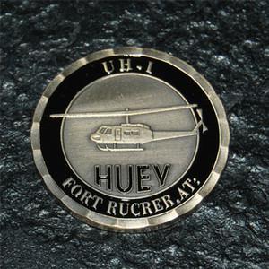 هيوي هليكوبتر UH-1 قدم. الجيش روكر تحدي عملة DHL شحن مجاني